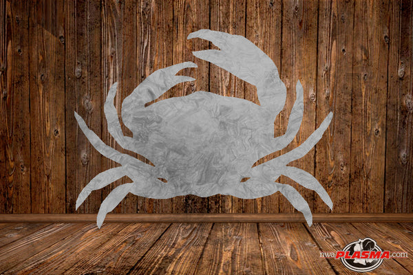 CUT READY, Crab silhouette, SVG, DXF