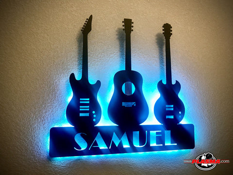 Guitar art, personalized