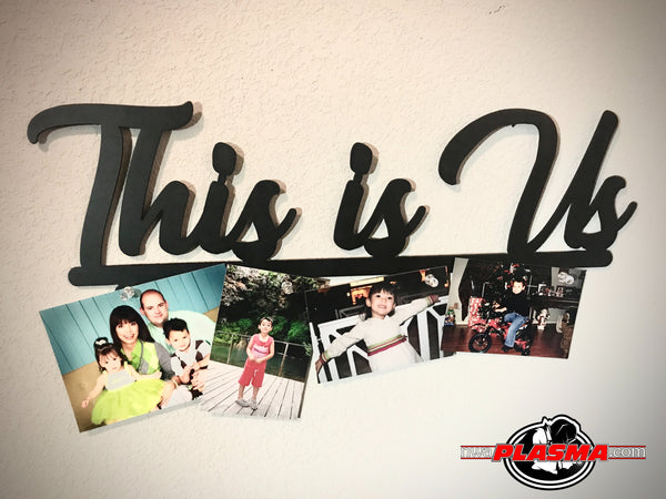 """This Is Us"" with names or photo magnets"