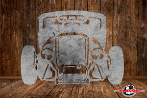 CUT READY, Hotrod Ratrod, SVG, DXF