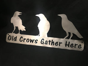 """Old Crows Gather Here"""
