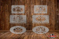 CUT READY, Lotus Flower combo, SVG, DXF