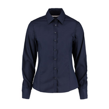 Load image into Gallery viewer, Kustom Kit L/S Business Blouse Tailored Fit