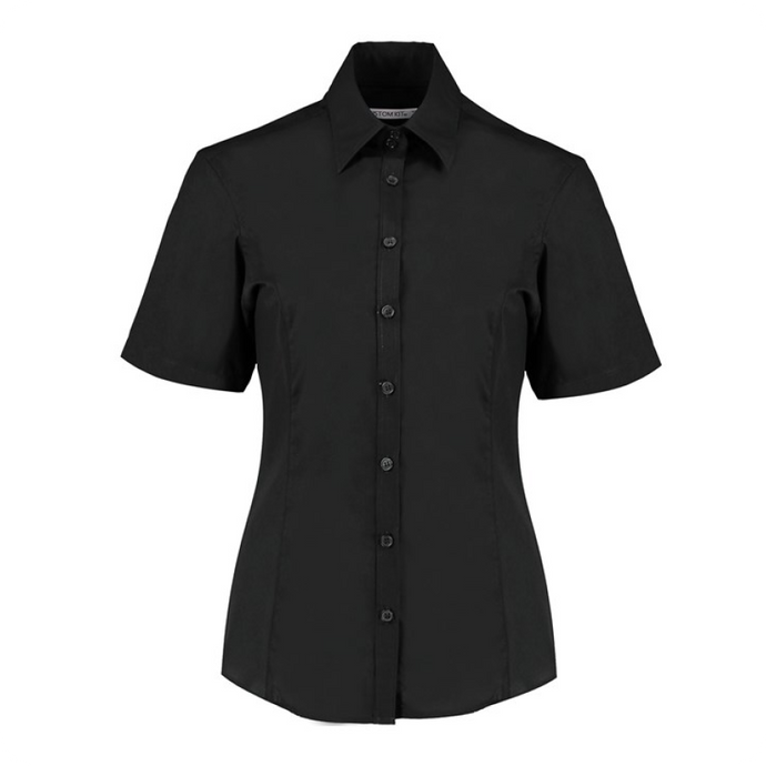 Kustom Kit S/S Business Blouse Tailored Fit