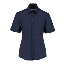 Load image into Gallery viewer, Kustom Kit S/S Business Blouse Tailored Fit
