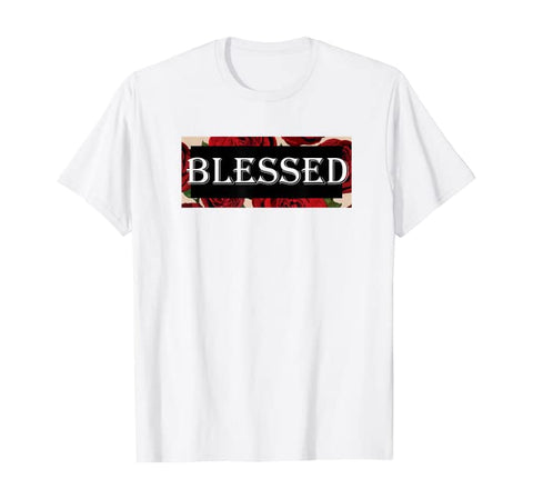 Blessed Roses Christian Unisex Short-Sleeve T-Shirt (Purchase Link In Description)