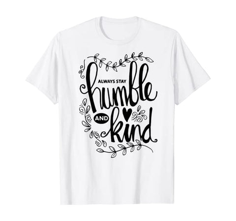 Humble and Kind Christian Unisex Short-Sleeve T-Shirt (Purchase Link In Description)