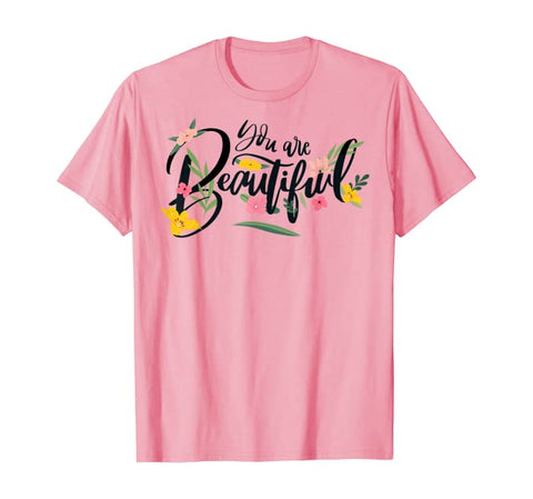 You Are Beautiful Christian Unisex Short-Sleeve T-Shirt (Purchase Link In Description)