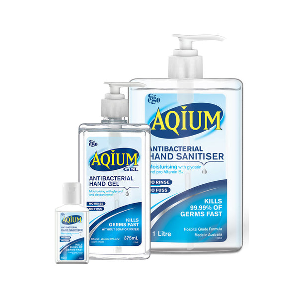 YMSW2037 Aquim Antibacterial Hand Sanitiser 60ml YMM Solutions Melbourne
