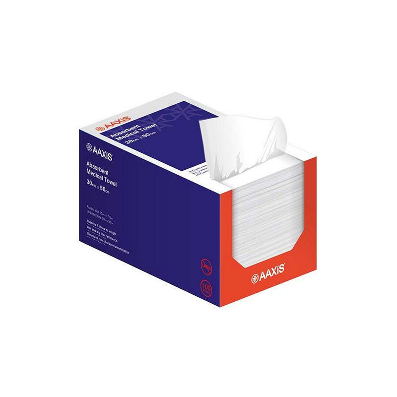 YMSW2036 Absorbent Medical Towel 30x35cm (100/Box) YMM Solutions Melbourne