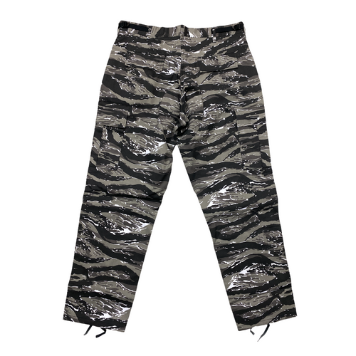 Rothco Cargo Pants- Tiger Camo Black/White