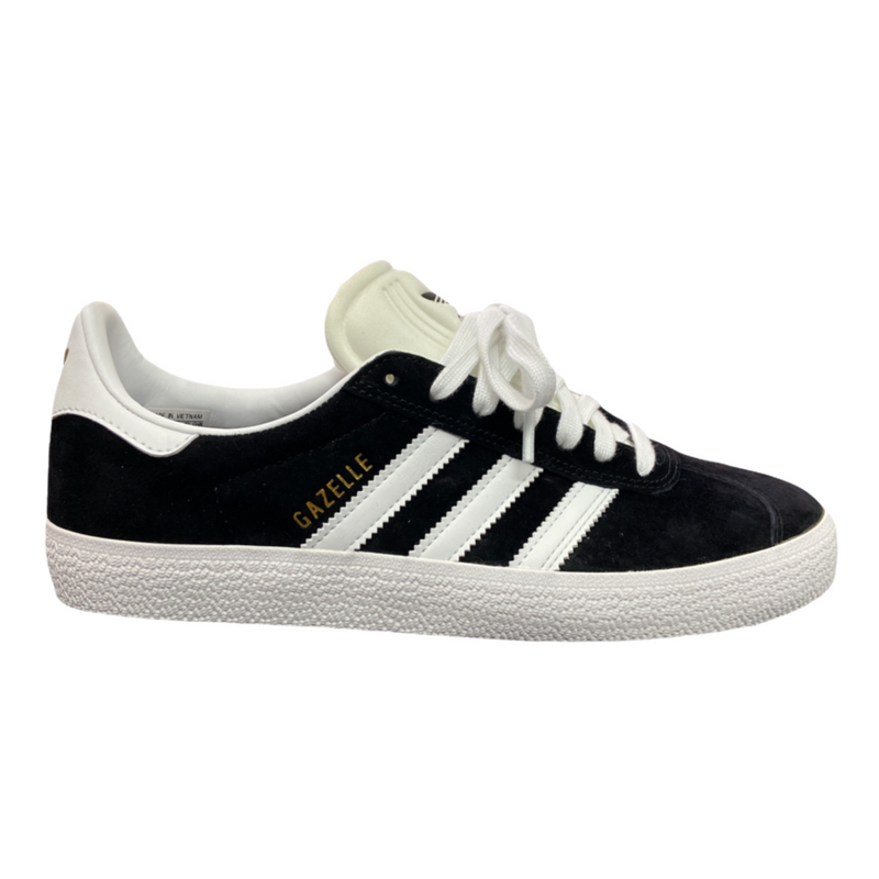 Adidas Gazelle ADV- Core Black/White/Gold Metallic