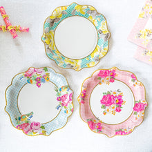 Load image into Gallery viewer, Vintage Style Paper Plates