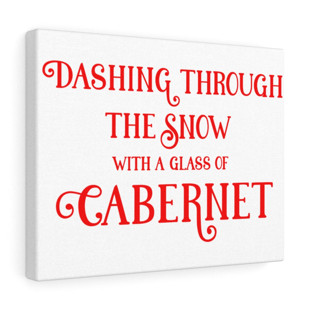 Dashing Through The Snow Canvas Gallery Wraps
