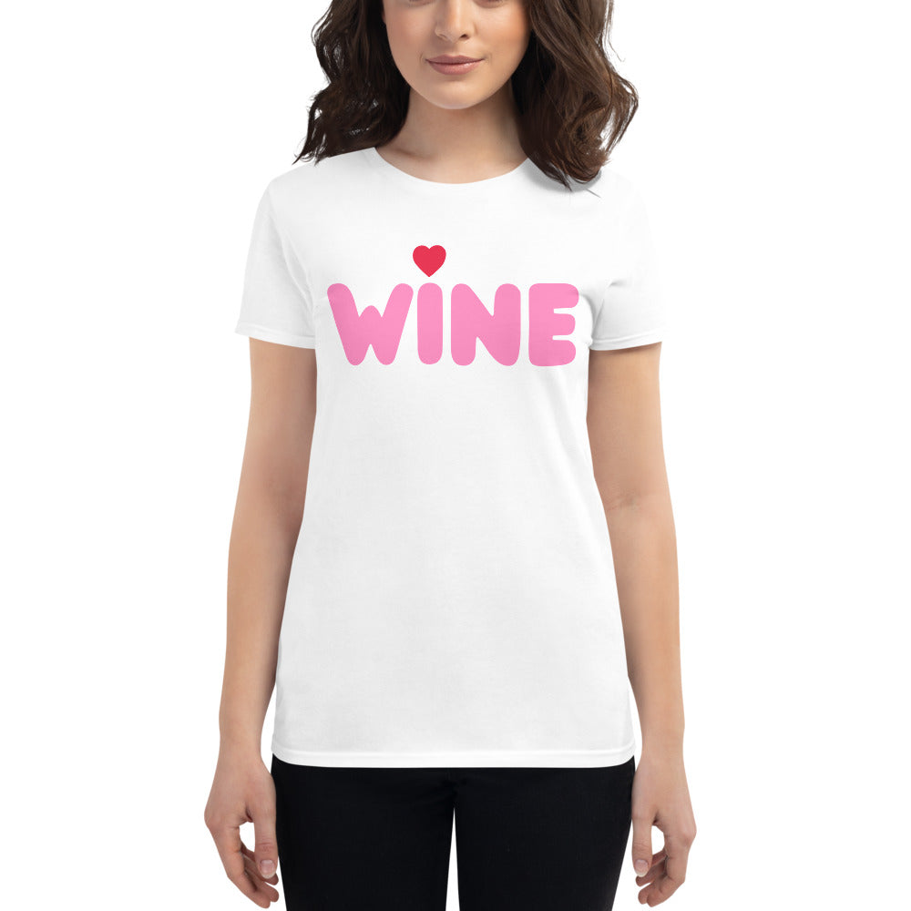Wine Valentine's Day T-Shirt