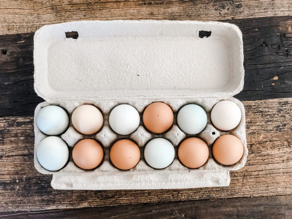 Fresh Dozen Organic Eggs- Delivery Subscription (4 Deliveries)