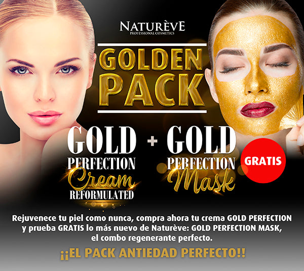 Natureve Crema Gold Perfection 50 ml + Mask Gold Perfection 75 ml