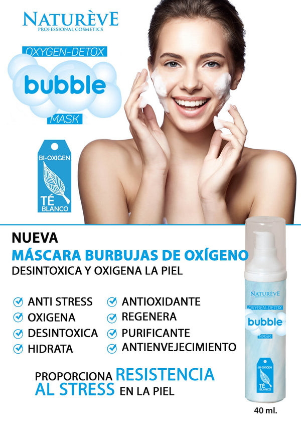 Natureve Mask Oxygen Detox Bubble 40 ml
