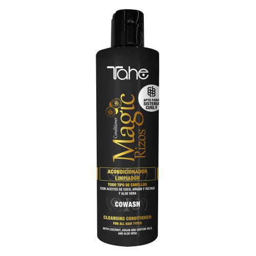 TAHE MAGIC RIZOS CHAMPU ACONDICIONADOR NUTRITIVO COWASH 300 ML.