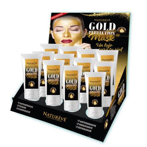 Natureve Mascarilla Gold Perfection 75 ml.