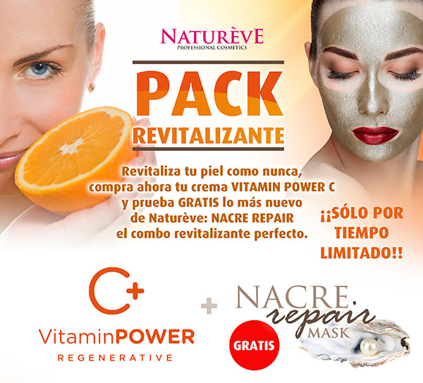 Natureve Crema Facial VitaminPower + Mask Nacre Repair 75 ml