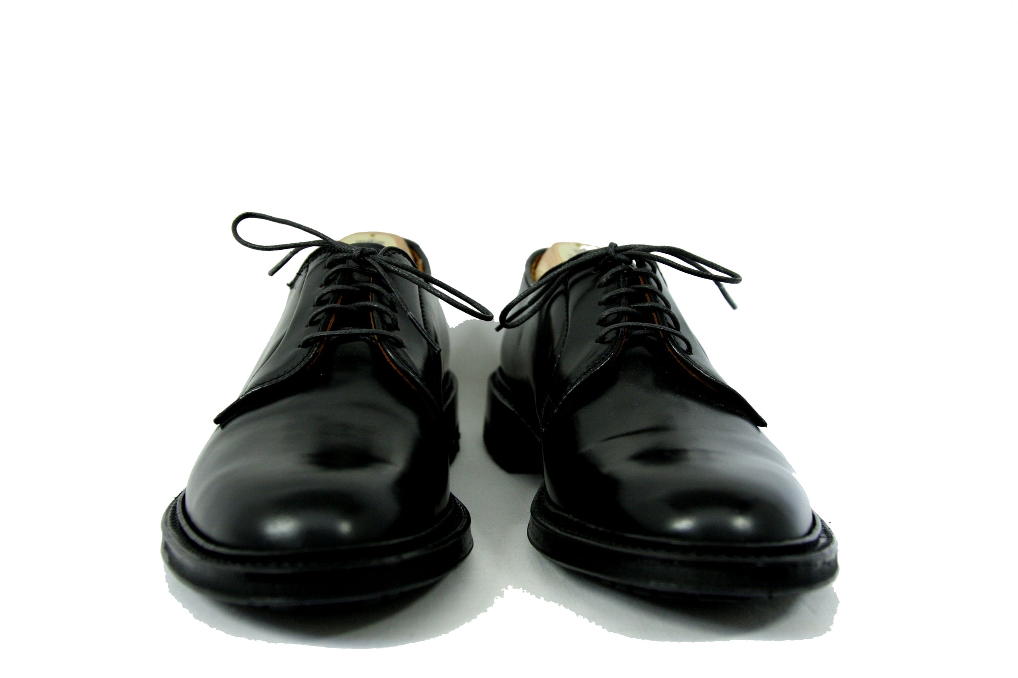 Alden Black Cordovan Classic Blucher with Commando Sole