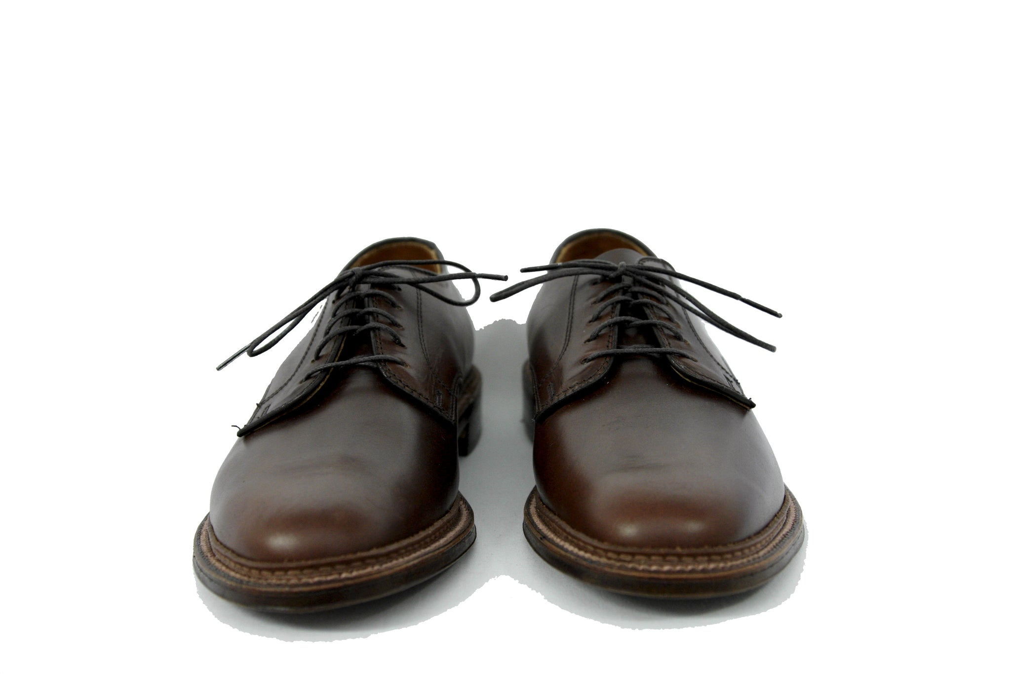 Alden Plain Toe Blucher in Dark Brown Style #29364