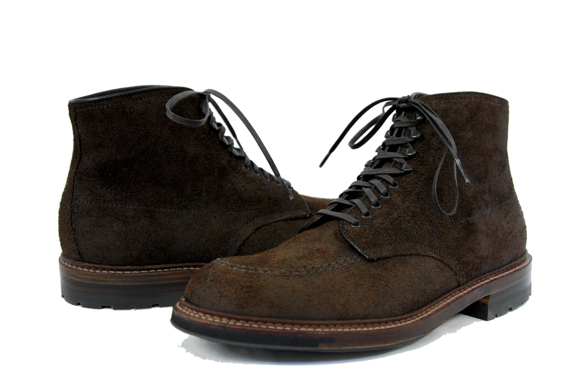 Alden Shoes Indie True Balance Workboot Tobacco Chamois Commando Sole