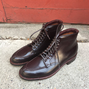Alden Hand Sewn Color 8 Cordovan Tanker Boot Halo Shoes Portland