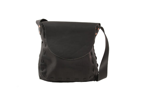 The Maddie Shoulder Bag - Black