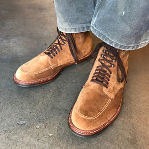 Indy Workboot Snuff Suede with Commando Sole
