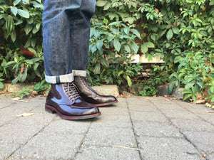 Alden Handstitched Tanker Boot Cordovan at Halo Shoes