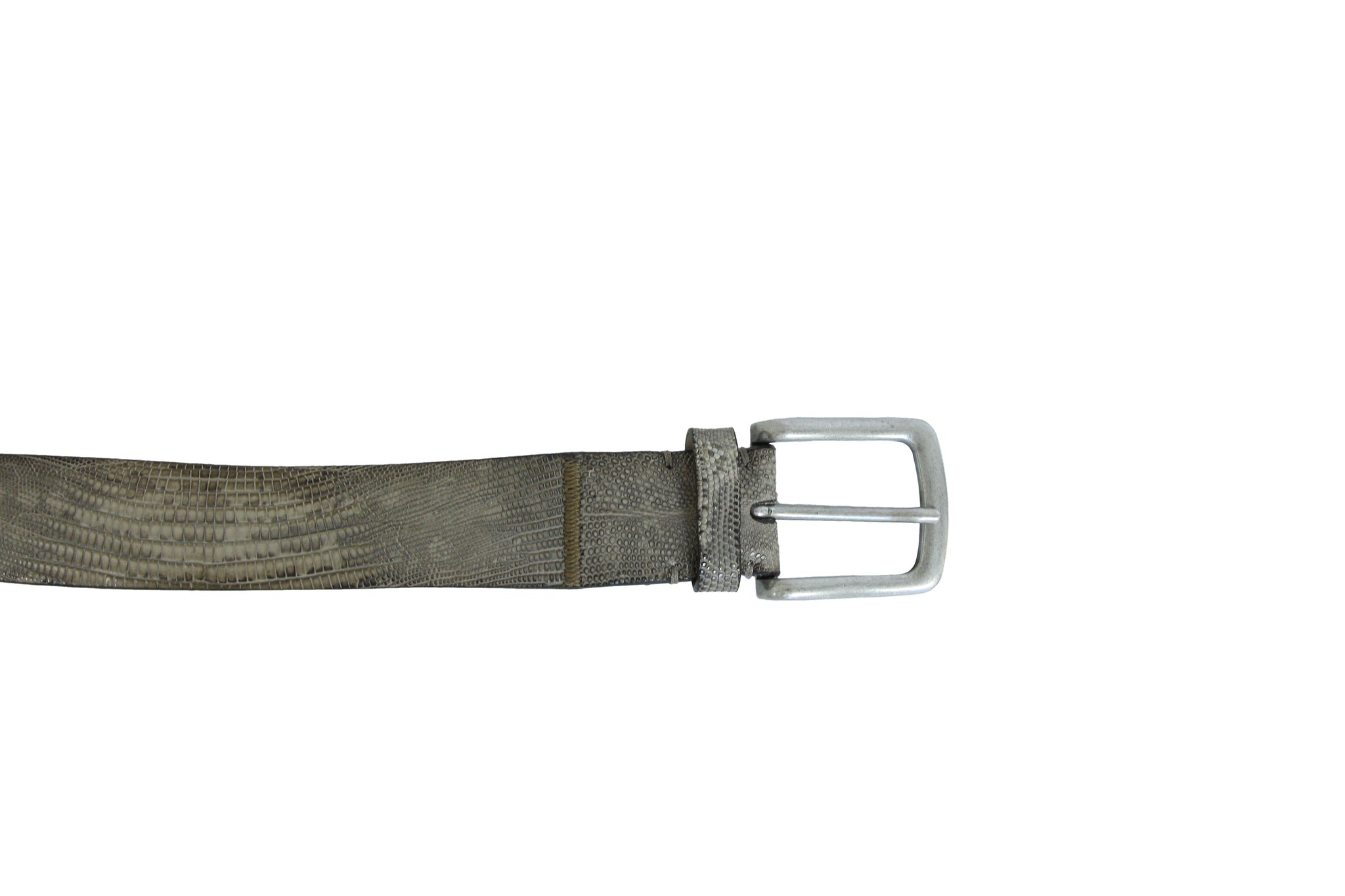 Grey Lizard Belt
