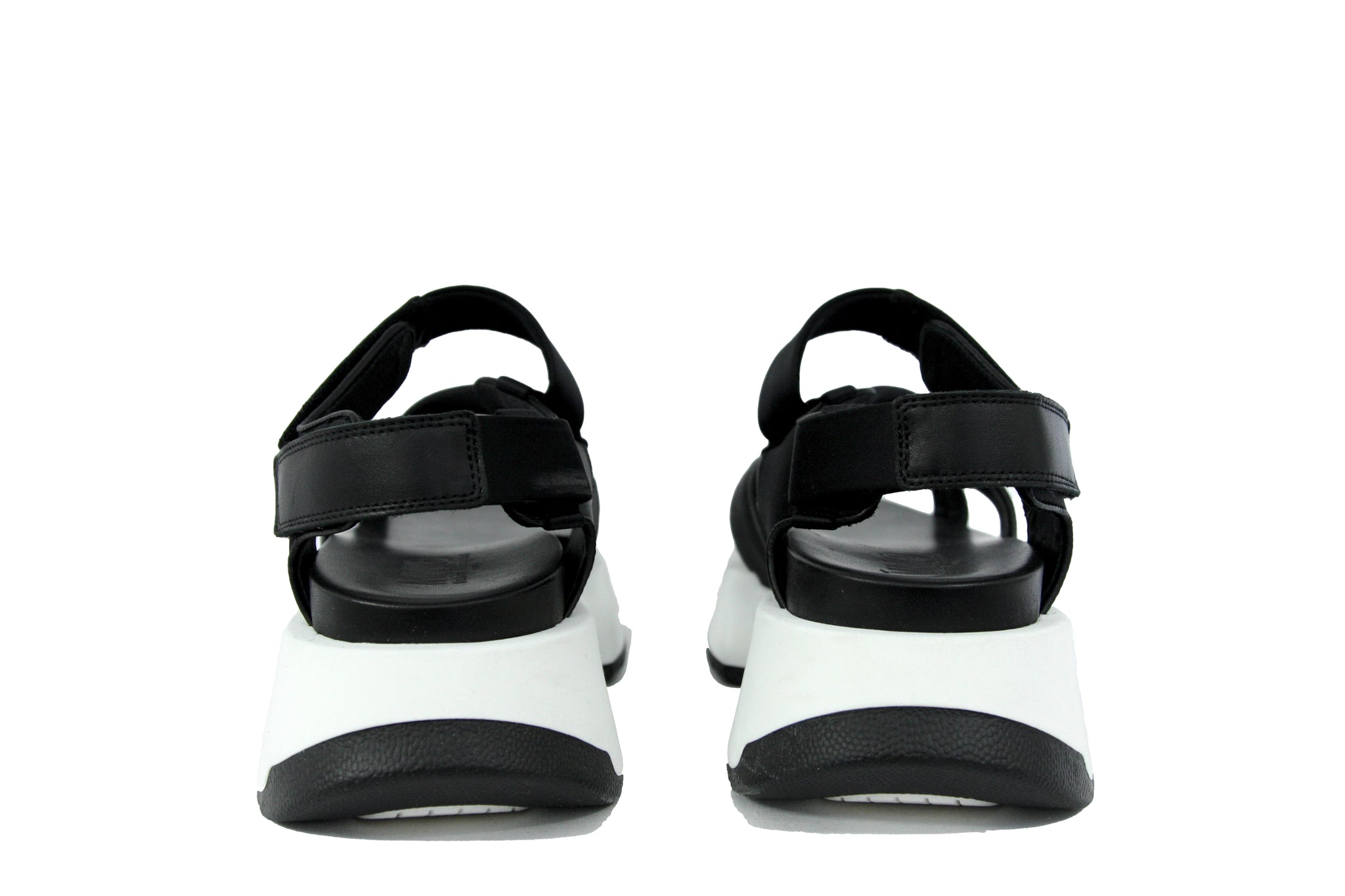 MM6 Women's Chunky Black Sport Sandal