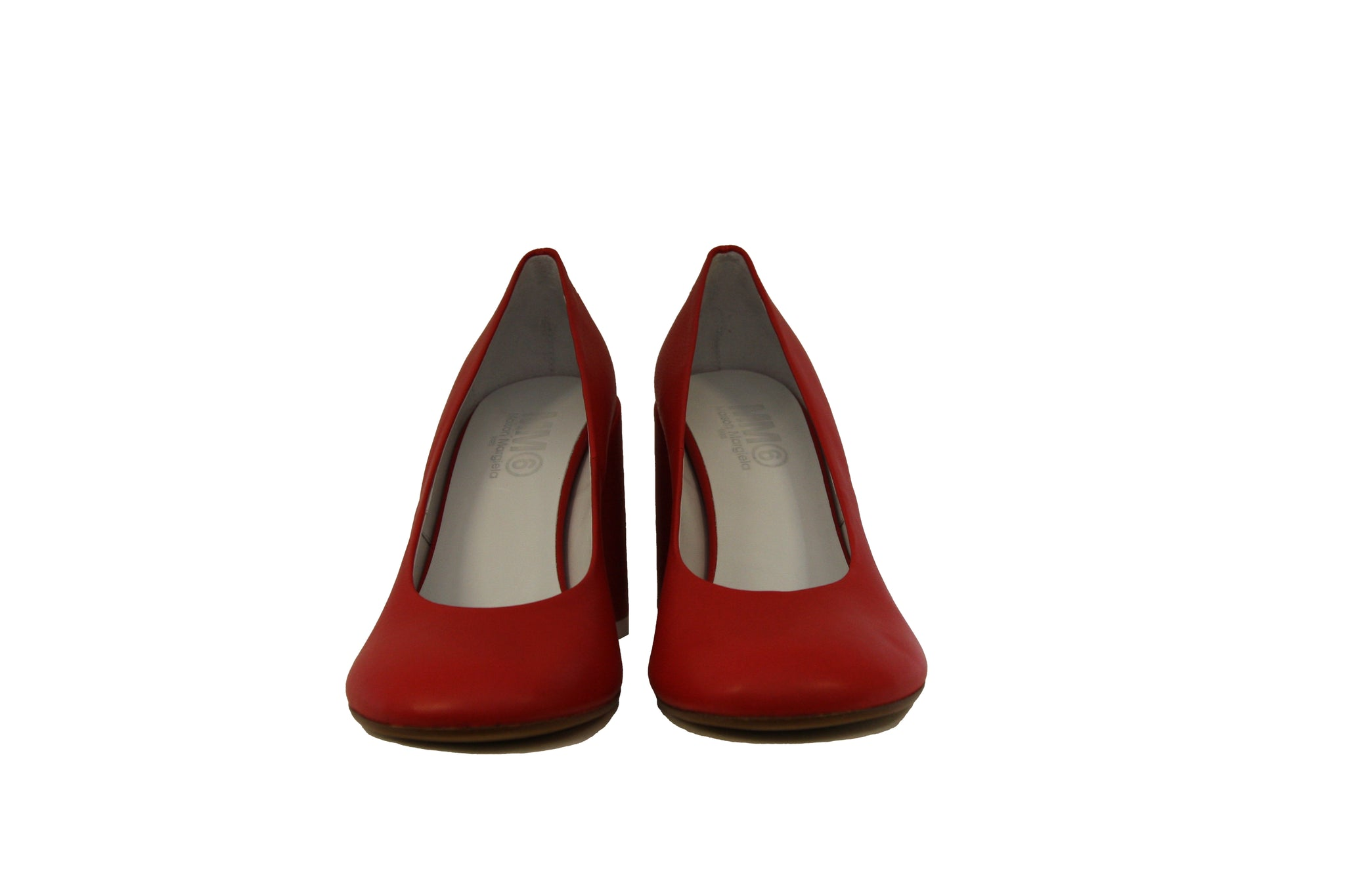 MM6 Maison Margiela Classic Red Leather Pump at Halo Shoes