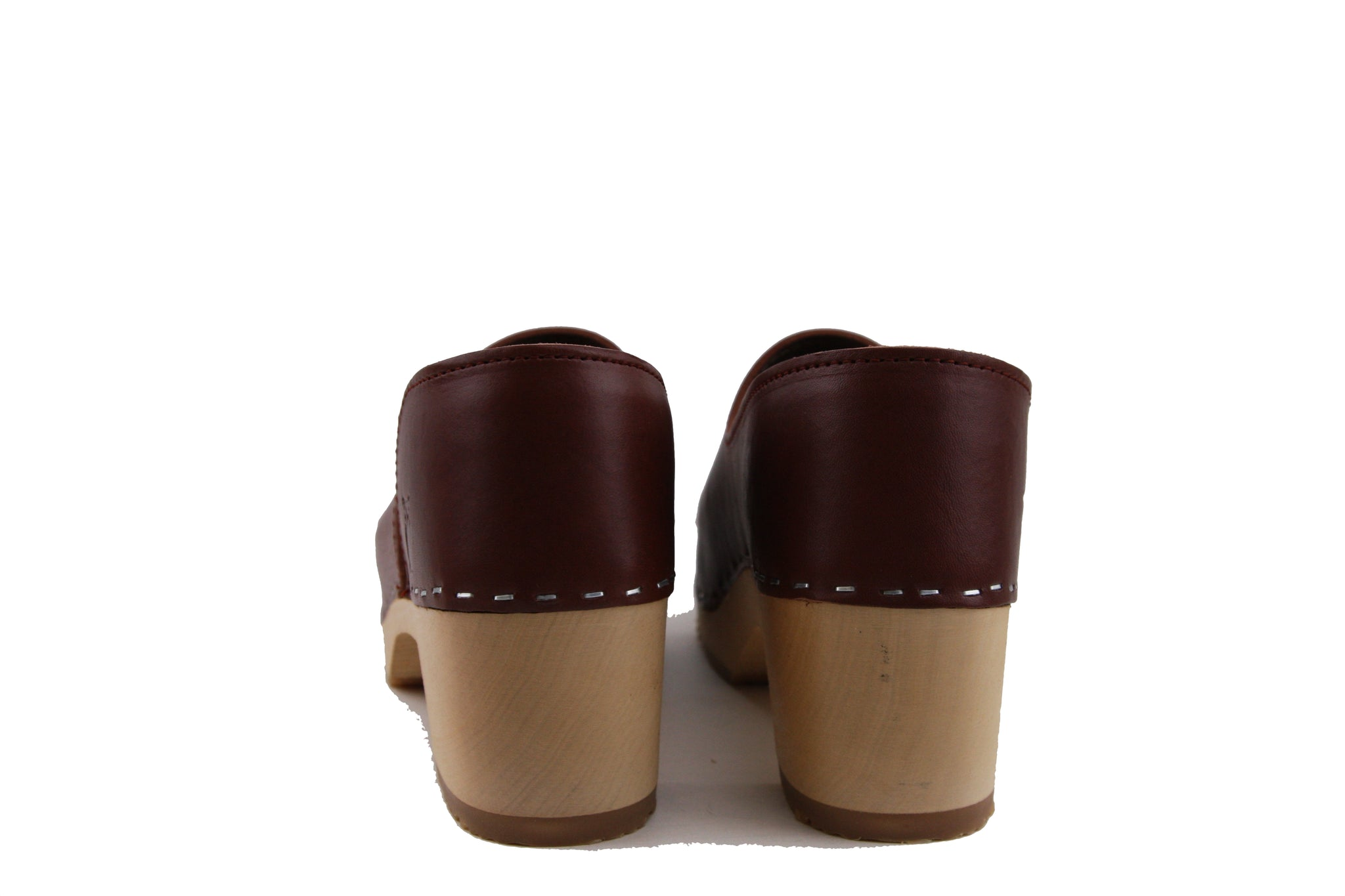 Sandgrens Brett Cognac Closed Back Clog