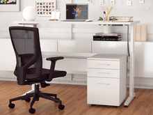 Load image into Gallery viewer, Aero 1800 x 750 Electric Desk Bundle - FREE DELIVERY!