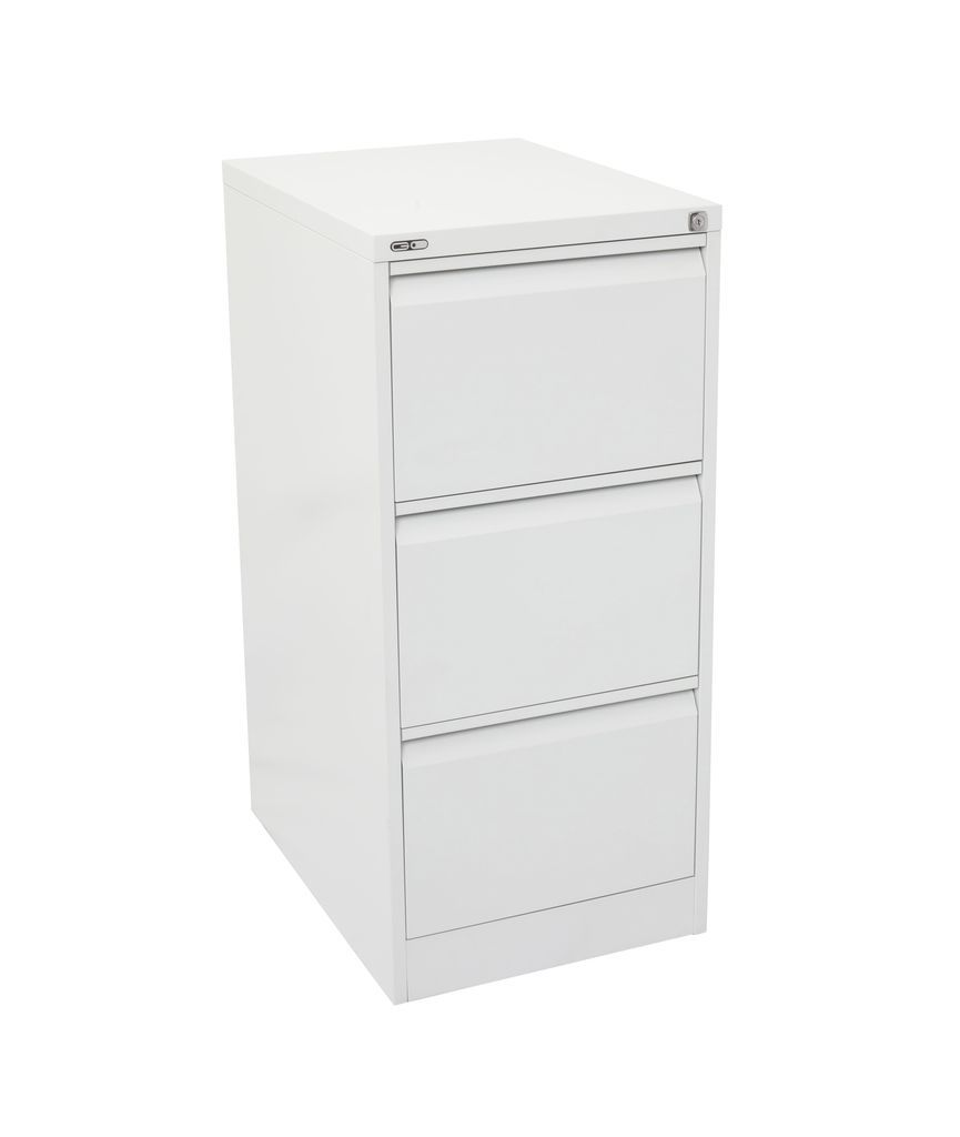 GO Heavy Duty 3 Drawer Filing Cabinet - Assembled