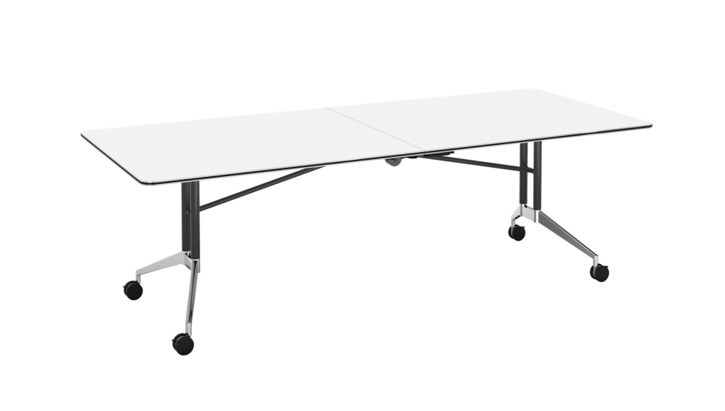 Rapid Edge Folding Boardroom Table - Includes 2 x Table Links