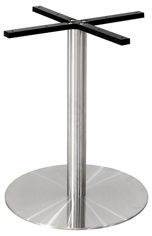 Round Table Base - Stainless Steel