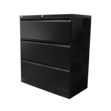 Load image into Gallery viewer, GO Heavy Duty 3 Drawer Lateral Filing Cabinet - Assembled