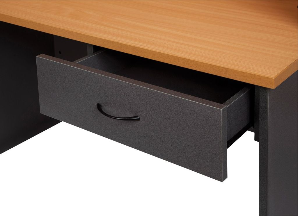 Fixed Under Desk Pedestal - 1 x Personal Drawer