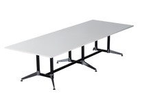 Load image into Gallery viewer, Typhoon Boardroom Table - Dual Post - 2 Piece Top - Double Stage