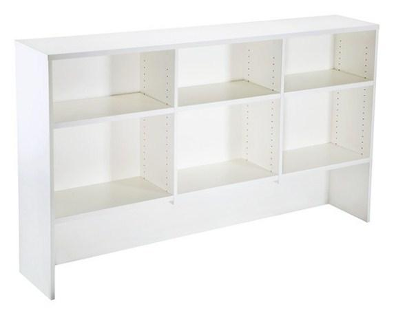 Overhead Hutch - Includes 6 Adjustable Shelves