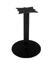 Load image into Gallery viewer, Round Table Base - Powder Coat Finish