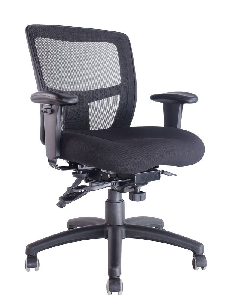 Adjustable Arms To Suit ERGO TASK Mesh Chair