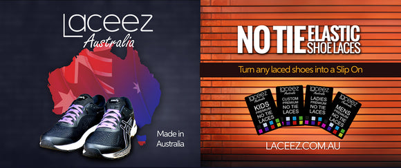 Laceez Australia No Tie Shoelaces