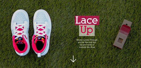 How Laceez Work - Lace Up