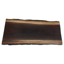Load image into Gallery viewer, Black Beauty- Live Edge Black Walnut Grazing Board