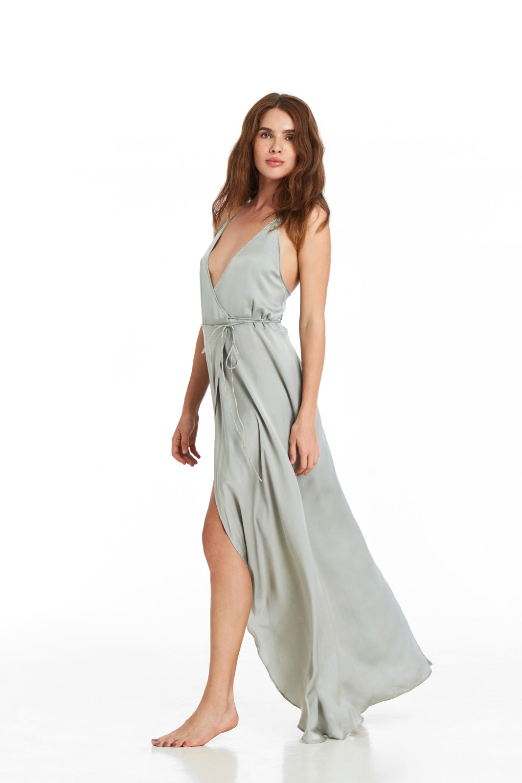 Wrap String Dress